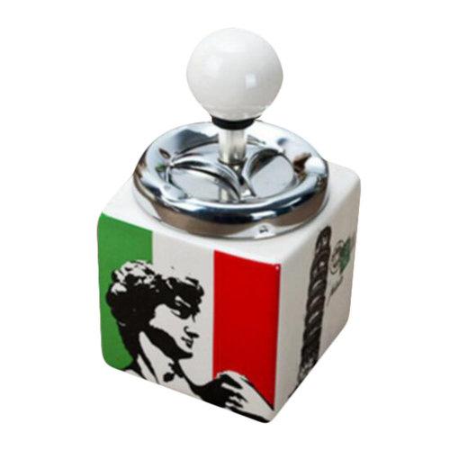 Decorative Ceramic Cigarette Ashtray Holder Bar Theme Ornaments -Italy