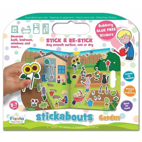Garden Stickabouts Activity Stickers