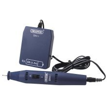 Draper Battery Powered Engraver, Diamond Tipped