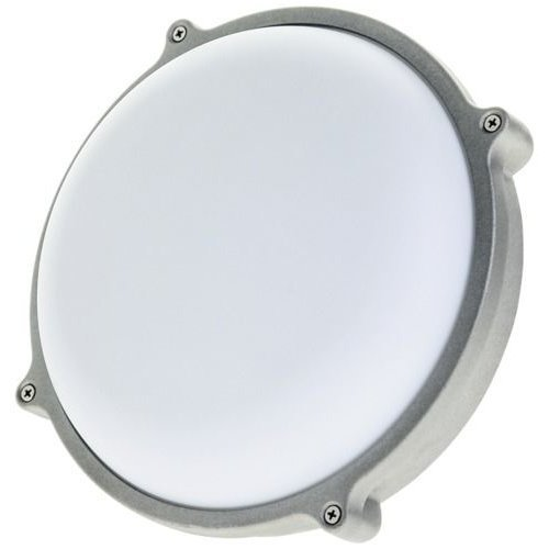 25 watt LED round outdoor bulkhead light 80% energy saving weatherproof Timeguard Night Eye LEDBHR25W
