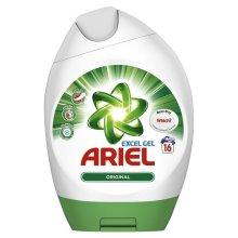 Ariel Regular Bio Actilift Concentrated Washing Detergent Excel Gel - 16 Washes