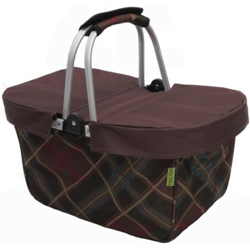 JanetBasket Large Basket Cover-Brown