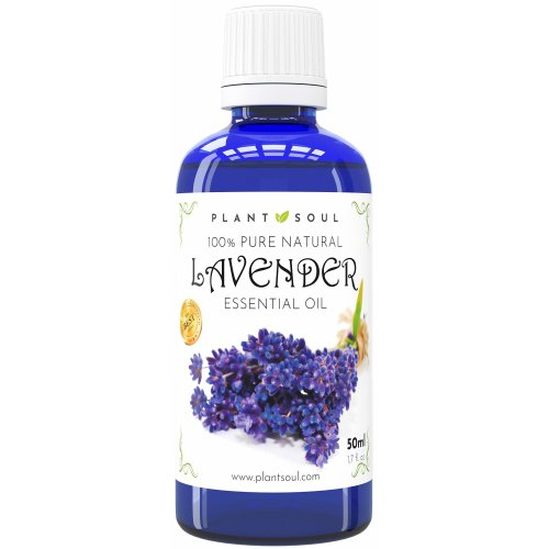 Lavender Essential Oil 50ml 100% Pure & Natural   1000 Drops   Beautiful, Versatile Aroma   Mixed With Carrier Oil Helps Reduce The Appearance Of...