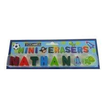 Childrens Mini Erasers - Nathan