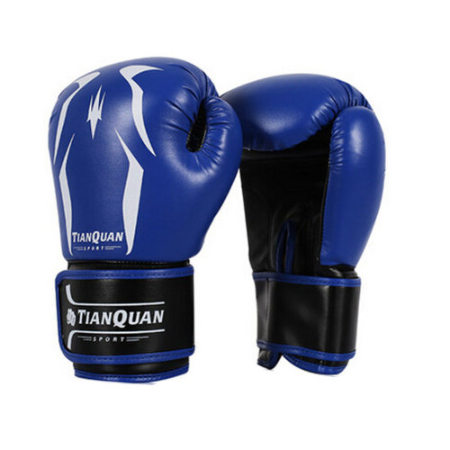 Professional Boxing Gloves Sandbag blue Gloves strengthen Training Gloves