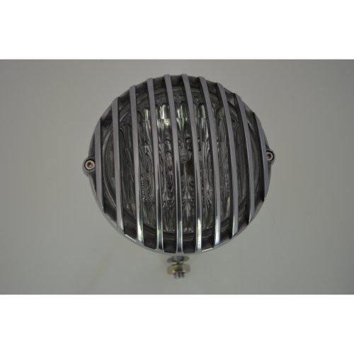"5"" Cast Aluminium Universal Prison Motorbike Headlight For Custom Project"