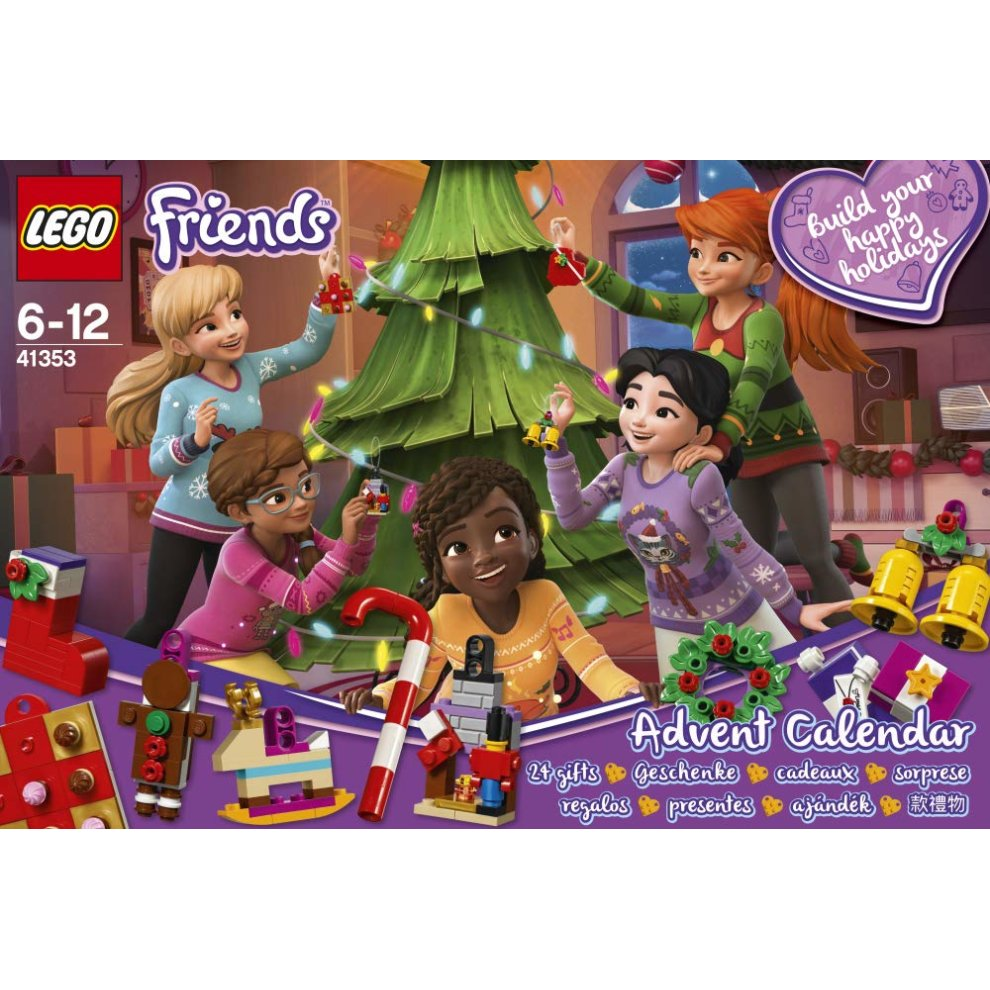 Lego Friends Christmas Sets.Lego 41353 Friends Advent Calendar 2018 Christmas Countdown Building Toy For Kids