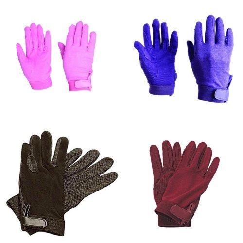 Dublin Childrens/Kids Track Riding Gloves