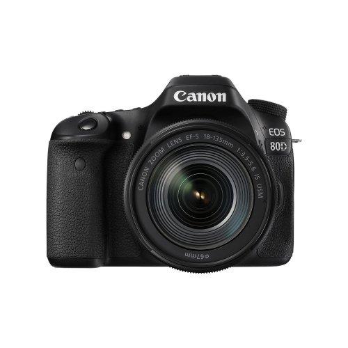 Canon EOS 80D DSLR Camera & 18-135mm IS USM Lens Kit
