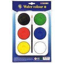 Pbx2470604 - Playbox - Palette W/ 6 Paint Pucks