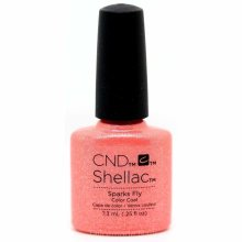 CND Shellac Nail Polish - Sparks Fly