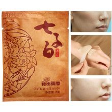 Herbal Extract Seven White Mask Powder Whitening Moisturizing Natural Plant Acne Treatment