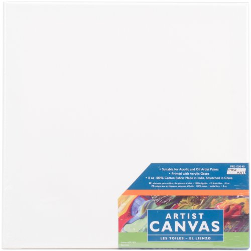 "Pro Art Stretched Artist Canvas-12""X12"""