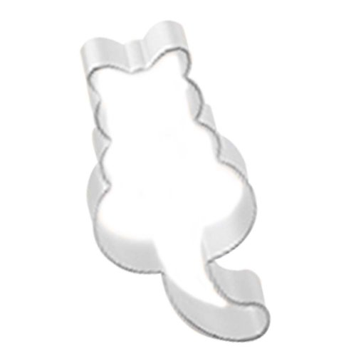 3 Pcs DIY Lovely Cat Aluminum Baking Mold Cookies Cut