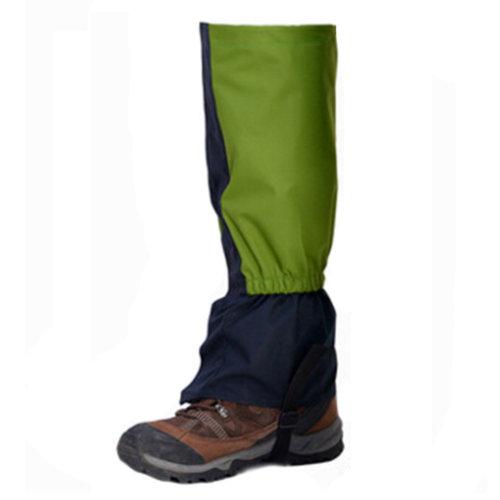 1 Pair Leg Binding Outdoors Shoe Gaiters Waterproof Podotheca Foot Strap Green