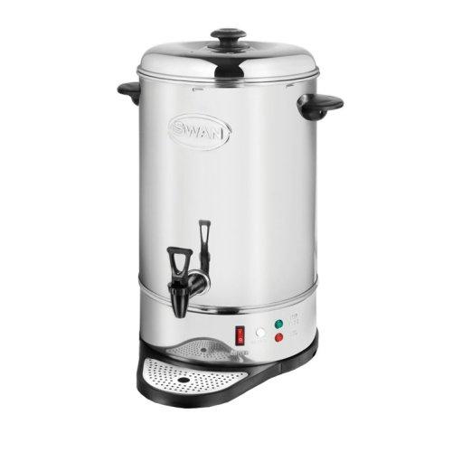 Swan Catering Tea Urn 20L Capacity 2200W - Silver (Model No. SWU20L)