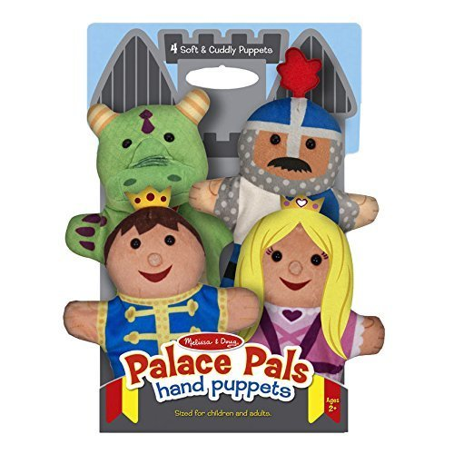 Melissa & Doug 19082 Palace Pals Hand Puppets