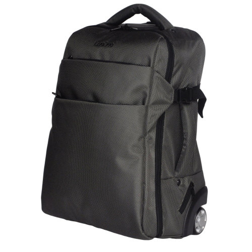 (Classic Grey) GEEZY 3-in-1 Wheeled Cabin-Size Travel Backpack