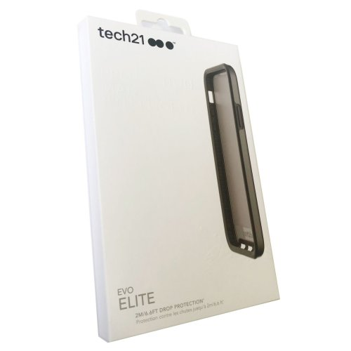 Tech21 Evo Elite Case Cover for Apple iPhone X/Xs - Polished Black - T21-5909
