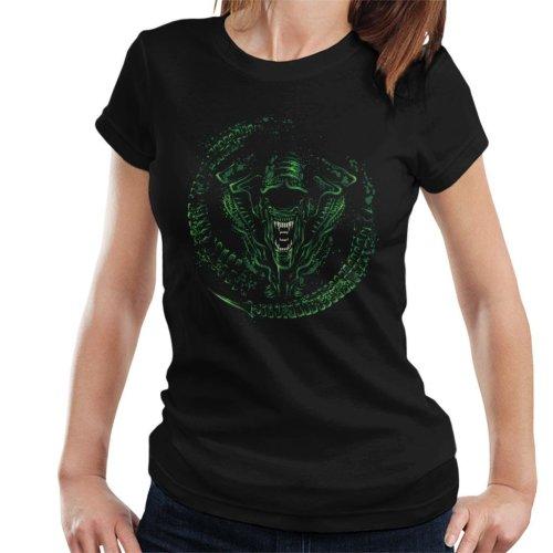 Queen Green Alien Women's T-Shirt