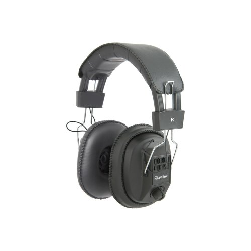 Mono/Stereo Headphones with Volume Control
