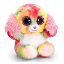Keel Animotsu Rainbow Dog Soft Toy 15cm