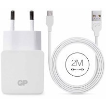 GP USB Wall Charger WA23 with Micro USB Cable 2 m 150GPWA23CB22C1