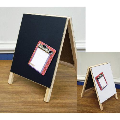 "Magnetic Dry Erase Chalkboard Easel 8""X12""-"