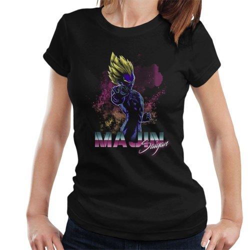 Retro Majin Saiyan Dragon Ball Z Women's T-Shirt