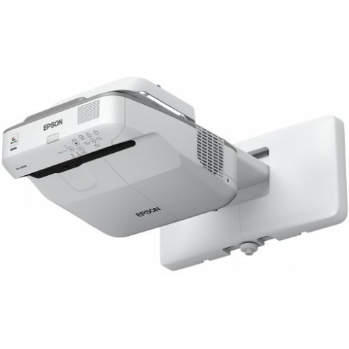 Epson EB-685W 3500ANSI lumens 3LCD WXGA (1280x800) Wall-mounted projector Grey,White