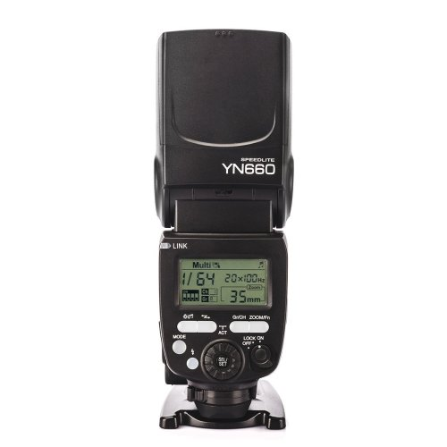 YONGNUO YN660 (Updated Version of YN560 IV) 2.4GHz Flash Speedlite Wireless Transceiver Integrated for Canon Nikon Pentax Olympus DSLR Cameras With...