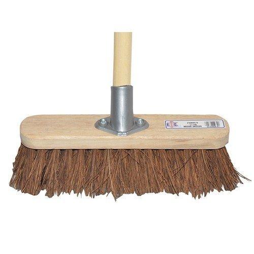 Faithfull FAIBRBASS12H Broom Bassine 30cm (12in) Head with 48in Handle