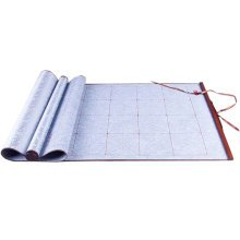 [GRAY]Recycle Used Writing Pad Calligraphy Practice Satin Scroll