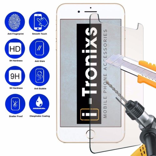 """iTronixs - Funker W5.5 Pro (5.5"""") 9H Protection Glass Armor Protective Film Screen Protector Tempered Glass Anti Scratch Laminated Glass"""