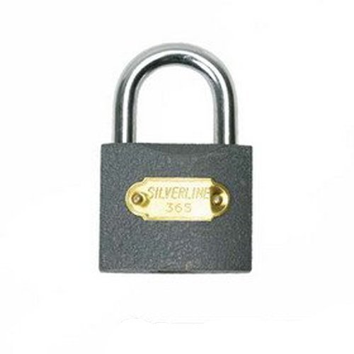 Silverline Iron Padlock 60mm - Mss05i 63mm -  iron padlock silverline mss05i 60mm 63mm