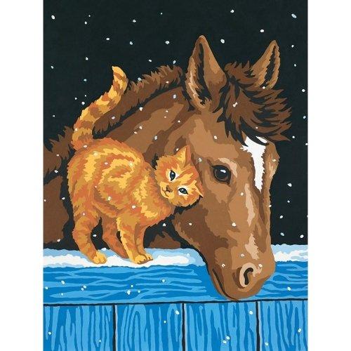 Dpw91305 - Paintsworks Learn to Paint - Pony & Kitten