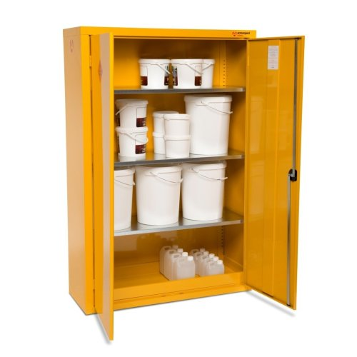 Armorgard SafeStor HFC6 Secure Chemical Storage Cabinet - 1200 x 465 x 1800mm