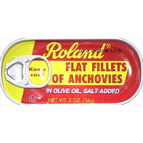 Anchovies Flat/Olive Oil -Pack of 25