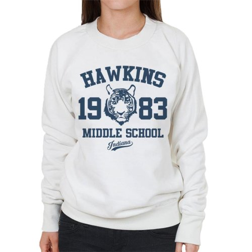 Hawkins Middle School Stranger Things Women's Sweatshirt