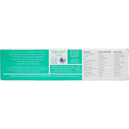 Kingfisher Mint Toothpaste 100ml