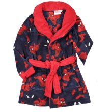 Spiderman Dressing Gown - Red