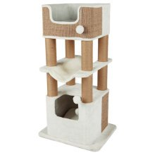 Lucano Scratching Post, 110 Cm, White/taupe - Trixie Tree White New -  trixie scratching tree lucano white new