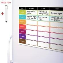 CKB Ltd® Meal Diet Planner | Food Prep Nutrition Fitness Magnetic Fridge Board