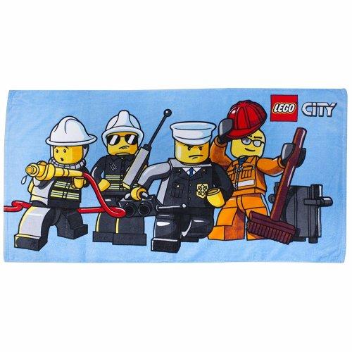 Lego City 'Heroes' 100% Cotton Beach Towel