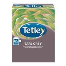 Tetley Earl Grey String & Tagged 100's