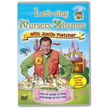 Lets Sing Nursery Rhymes with Justin Fletcher [dvd]