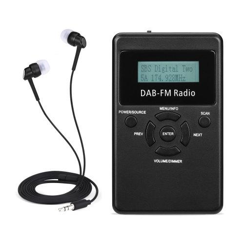 Excelvan Pocket Personal Handheld DAB+ DAB Digital FM Radio