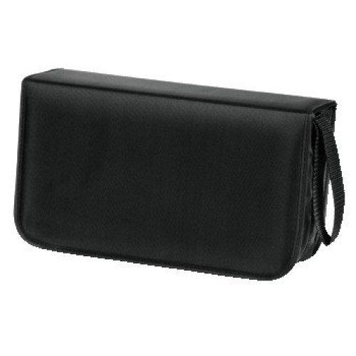 Hama CD Wallet Nylon 120, black 120discs Black