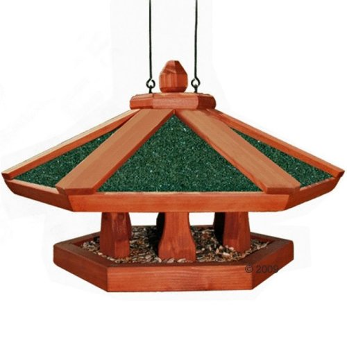 Wild Bird House Feeder Ornamental Hanging Outdoor Garden