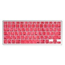 "1 Piece MacBook Pro 13"" Keyboard Sticker Decal Keyboard Skin RED"